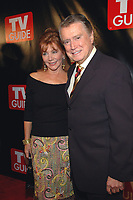 Regis Philbin dies at 88 - Regis Philbin dies at 88 - 11 October 2005 - New York, New York -Regis and Joy Philbin arrive at the New Big TV Guide launch party at the Home and Guest House Club in Chelsea. <br />
