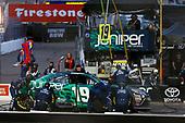 NASCAR Xfinity Series<br /> DC Solar 200<br /> ISM Raceway, Phoenix, AZ USA<br /> Saturday 10 March 2018<br /> Brandon Jones, Joe Gibbs Racing, Toyota Camry Juniper pit stop<br /> World Copyright: Barry Cantrell<br /> NKP / LAT Images