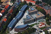 TU Harburg: EUROPA, DEUTSCHLAND, HAMBURG, (EUROPE, GERMANY), 14.04.2007: Hamburg Harburg, Stadtbild, Uebersicht, Gebaeude der Universitaet Hamburg, Technische Universitaet Harburg, Uni, TU Harburg, Ansicht, Lehre, Forschung, Haus, Schule, Campus, Schwarzenberstrasse, Denickestrasse, Kasernen Strasse, Luftbild, Luftansicht, Luftaufnahme, Aufwind-Luftbilder.c o p y r i g h t : A U F W I N D - L U F T B I L D E R . de.G e r t r u d - B a e u m e r - S t i e g 1 0 2, .2 1 0 3 5 H a m b u r g , G e r m a n y.P h o n e + 4 9 (0) 1 7 1 - 6 8 6 6 0 6 9 .E m a i l H w e i 1 @ a o l . c o m.w w w . a u f w i n d - l u f t b i l d e r . d e.K o n t o : P o s t b a n k H a m b u r g .B l z : 2 0 0 1 0 0 2 0 .K o n t o : 5 8 3 6 5 7 2 0 9.C o p y r i g h t n u r f u e r j o u r n a l i s t i s c h Z w e c k e, keine P e r s o e n l i c h ke i t s r e c h t e v o r h a n d e n, V e r o e f f e n t l i c h u n g  n u r  m i t  H o n o r a r  n a c h M F M, N a m e n s n e n n u n g  u n d B e l e g e x e m p l a r !.