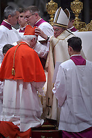 cardinal, archbishop of Mechelen-Brussel, Jozef De Kesel,  during a consistory at Peter's basilica. Pope Francis has named 17 new cardinals, on November 19, 2016
