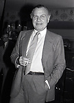 Bill Blass attends A.T.A.S. at the Beverly Hills Hotel on February 1, 1982 in Beverly Hills, California.