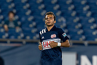 FOXBOROUGH, MA - JULY 23: Colby Quinones #41 of New England Revolution II during a game between Toronto FC II and New England Revolution II at Gillette Stadium on July 23, 2021 in Foxborough, Massachusetts.