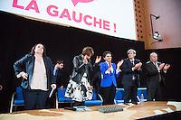 EMMANUELLE COSSE, MARISOL TOURAINE, NAJAT VALLAUD-BELKACEM, STEPHANE LE FOLL, JEAN-MICHEL BAYLET - MEETING PS - H… HO LA GAUCHE A L'UNIVERSITE PARIS DESCARTES