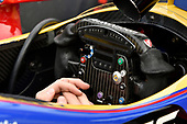 Verizon IndyCar Series<br /> Indianapolis 500 Qualifying<br /> Indianapolis Motor Speedway, Indianapolis, IN USA<br /> Saturday 20 May 2017<br /> Alexander Rossi, Andretti Herta Autosport with Curb-Agajanian Honda, Steering Wheel, Cockpit<br /> World Copyright: Scott R LePage<br /> LAT Images<br /> ref: Digital Image lepage-170520-indy-2513