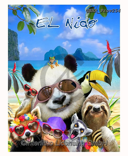 Howard, REALISTIC ANIMALS, REALISTISCHE TIERE, ANIMALES REALISTICOS, selfies,panda,el nido, paintings+++++,GBHRPROV254,#a#, EVERYDAY