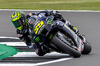 28th August 2021; Silverstone Circuit, Silverstone, Northamptonshire, England; MotoGP British Grand Prix, Qualifying Day; Monster Energy Yamaha MotoGP rider Cal Crutchlow on his Yamaha YZR-M1