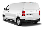 Car pictures of rear three quarter view of 2016 Peugeot Expert Premium 4 Door Cargo Van Angular Rear