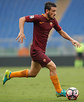 Calcio, Serie A: Roma vs Sampdoria. Roma, stadio Olimpico, 11 settembre 2016.<br /> Roma's Alessandro Florenzi in action during the Italian Serie A football match between Roma and Sampdoria at Rome's Olympic stadium, 11 September 2016. Roma won 3-2.<br /> UPDATE IMAGES PRESS/Isabella Bonotto