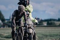 Tom Van Asbroeck (BEL/Israel Start-Up Nation)<br /> <br /> 118th Paris-Roubaix 2021 (1.UWT)<br /> One day race from Compiègne to Roubaix (FRA) (257.7km)<br /> <br /> ©kramon