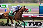 AUG 24,2014:Goldencents,ridden by Rafael Bejarano,wins the Pat O'brien Stakes at Del Mar in Del Mar,CA. Kazushi Ishida/ESW/CSM