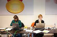 15-12-10, Tennis, Rotterdam, Reaal Tennis Masters 2010, Perskamer