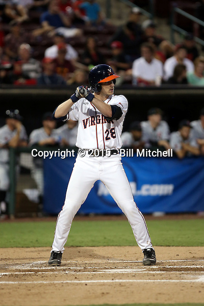 Kevin Doherty - 2015 Virginia Cavaliers (Bill Mitchell)