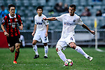 Auckland City Midfielder Mario Bilen in action during the 2017 Lunar New Year Cup match between Auckland City FC (NZL) vs FC Seoul (KOR) on January 28, 2017 in Hong Kong, Hong Kong. Photo by Marcio Rodrigo Machado/Power Sport Images