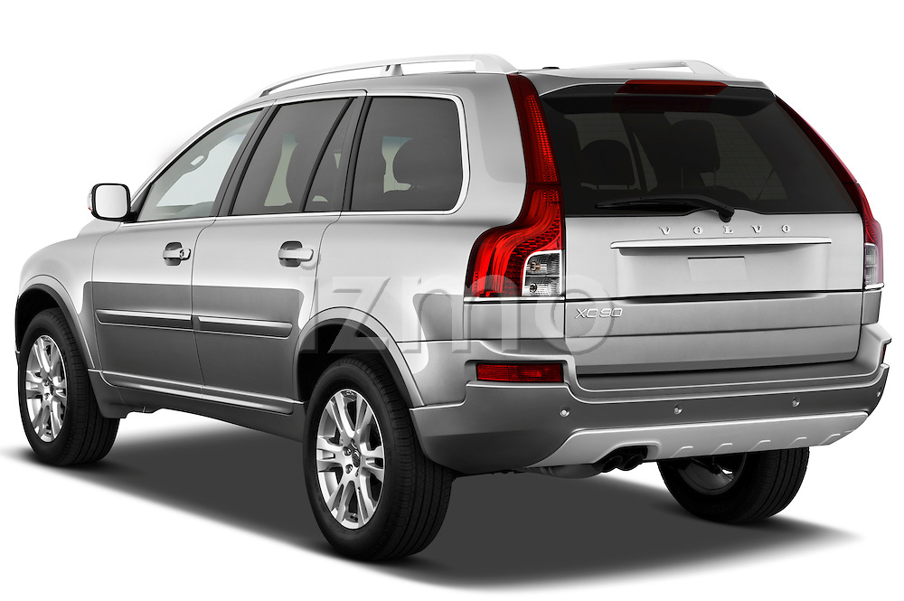 Rear three quarter view of a 2012 Volvo XC90