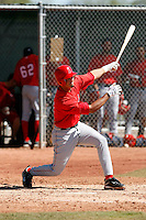 Gabe Jacobo - Los Angeles Angels - 2009 spring training.Photo by:  Bill Mitchell/Four Seam Images