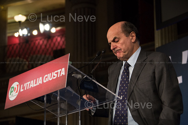 """Pier Luigi Bersani - Italian General Election 2013.<br /> <br /> For more pictures on this event click here: <a href= """" http://bit.ly/XKG54B""""><br /> http://bit.ly/XKG54B</a>"""