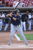 Cedar Rapids Kernels first baseman Trey Vavra (33) at bat during a game against the Wisconsin Timber Rattlers on May 4th, 2015 at Fox Cities Stadium in Appleton, Wisconsin.  Cedar Rapids defeated Wisconsin 9-3.  (Brad Krause/Four Seam Images)