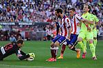 Atletico de Madrid´s goalkeeper Jan Oblak during 2014-15 La Liga match between Atletico de Madrid and FC Barcelona at Vicente Calderon stadium in Madrid, Spain. May 17, 2015. (ALTERPHOTOS/Luis Fernandez)