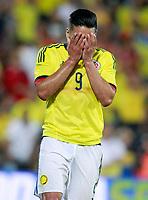 Colombia's Radamel Falcao dejected during international friendly match. June 13,2017.(ALTERPHOTOS/Acero) (NortePhoto.com) (NortePhoto.com)