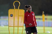 Ashely Williams of Wales during the Wales Training Session at The Vale Resort in Cardiff, Wales, UK. Monday 12 November 2018