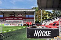 Fleetwood Town players arriving during the Sky Bet League 1 match between Fleetwood Town and Accrington Stanley at Highbury Stadium, Fleetwood, England on 24 August 2019. Photo by Stephen Buckley / PRiME Media Images.