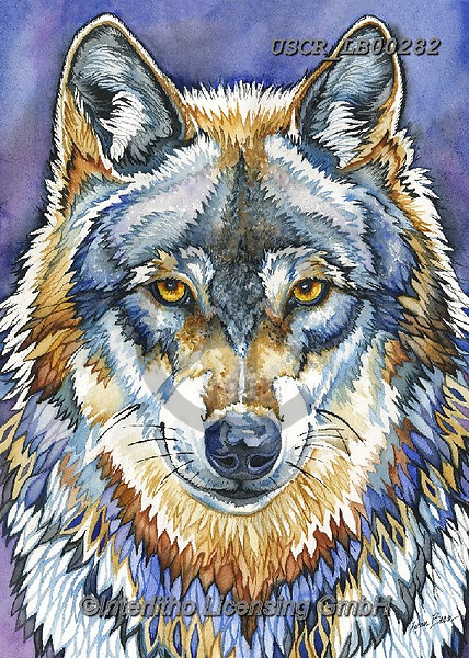 ,REALISTIC ANIMALS, REALISTISCHE TIERE, ANIMALES REALISTICOS, paintings+++++,USCRLB00282,#a#, EVERYDAY ,innovative