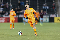 Commerce City, CO - Saturday March 30, 2019: The Colorado Rapids lost to the Houston Dynamo by a score of 4 to 1 during a Major League Soccer (MLS) game at Dick's Sporting Goods Park (DSGP).