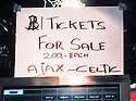 Desperate fans were being charged up to €200 for a ticket for tonight's match between Alax and Celtic.