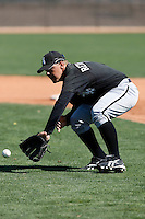 CJ Retherford  -  Chicago White Sox - 2009 spring training.Photo by:  Bill Mitchell/Four Seam Images