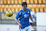 St Johnstone v Rangers...29.09.15   SPFL Development League  McDiarmid Park, Perth<br /> Craig Thomson<br /> Picture by Graeme Hart.<br /> Copyright Perthshire Picture Agency<br /> Tel: 01738 623350  Mobile: 07990 594431