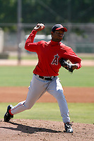 Orangel Arenas -  Los Angeles Angels - 2009 extended spring training.Photo by:  Bill Mitchell/Four Seam Images