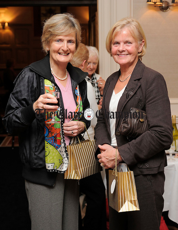 Jean Moloney and Mary Gardiner at an information evening on diabetes hosted by Mary Jo Duffy's pharmacy at the Temple Gate, Ennis. Photograph by John Kelly.