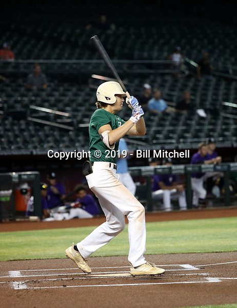 Zac Veen participates in the 2019 PG National Showcase at Chase Field on June 11-15, 2019 in Phoenix, Arizona (Bill Mitchell)