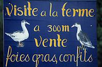 Europe/France/Aquitaine/40/Landes: Vente à la ferme de confit et de foie gras landais