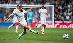 Daniel Carvajal Ramos of Real Madrid in action during their 2016-17 UEFA Champions League match between Real Madrid vs Sporting Portugal at the Santiago Bernabeu Stadium on 14 September 2016 in Madrid, Spain. Photo by Diego Gonzalez Souto / Power Sport Images