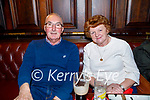 Doireann and Michael Crean enjoying the evening in the Grand Hotel on Friday.