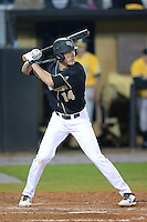 Central Florida Knights infielder Tommy Williams (14) during the season opening game against the Siena Saints at Jay Bergman Field on February 14, 2014 in Orlando, Florida.  UCF defeated Siena 8-1.  (Mike Janes/Four Seam Images)