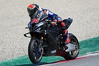 31st  March 2021; Barcelona, Spain; World Superbike testing at Circuit Barcelona-Catalunya;   Jonas Folger (GER) riding BMW M 1000 RR for Bonovo MGM Racing