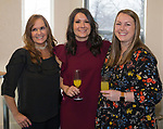 Holly LaChappell, Olivia Osborne and Juliet Tilly during Reno Magazine's Home Decor Workshop at Aspen Leaf Interiors Studio in Reno on Saturday, March 24, 2018.