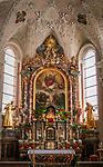 Oesterreich, Kaernten, Lesachtal, Maria Luggau: Wallfahrtskirche Maria Schnee - innen | Austria, Carinthia, Lesach Valley, Maria Luggau: pilgrimage church Maria Schnee - interior