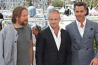 Cannes France May 16 2016 David MacKenzie Ben Foster Chris Pine attends Hell Or High Water Photocall Palais des Festival During the 69th Annual Cannes Film Festival