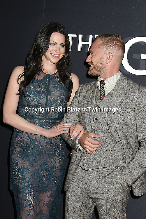 """Laura Prepon and fiancee Ben Foster attend """"The Girl on the Train"""" New York Premiere on October 4, 2016 at Regal E-Walk Stadium 13 & RPX  in New York,New York,  USA.<br /> <br /> photo by Robin Platzer/Twin Images<br />  <br /> phone number 212-935-0770"""