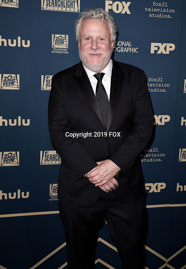 BEVERLY HILLS - JANUARY 6: Larry Karaszewski attends the 2019 Fox Nominee Party for the 76th Annual Golden Globe Awards at the Fox Terrace on the Roof Deck of the Beverly Hilton on January 6, 2019, in Beverly Hills, California. (Photo by Scott Kirkland/Fox/PictureGroup)