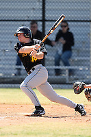 March 15, 2010:  Outfielder Casey Medairy of UMBC vs. Long Island University at Lake Myrtle Park in Auburndale, FL.  Photo By Mike Janes/Four Seam Images