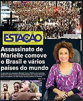 16.03.2018 - Milhares tomam a Avenida Paulista contra a morte de Marielle e Anderson. (Foto: Fábio Vieira/FotoRua)