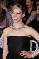 """WESTWOOD, LOS ANGELES, CA, USA - MARCH 18: Gracie Gold at the World Premiere Of Summit Entertainment's """"Divergent"""" held at the Regency Bruin Theatre on March 18, 2014 in Westwood, Los Angeles, California, United States. (Photo by Xavier Collin/Celebrity Monitor)"""