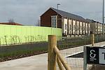 Ebbsfleet Valley Kent UK. Part of the proposed new Garden City.New housing.