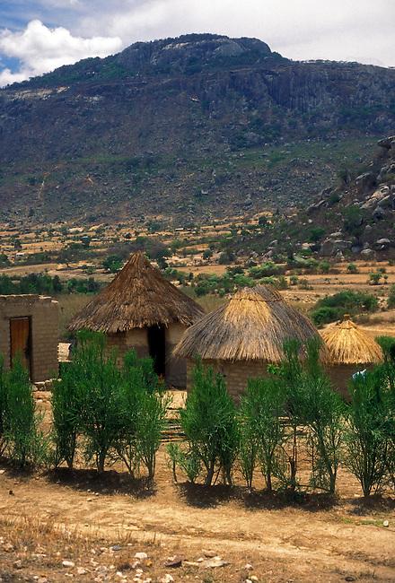 Village on outskirts of Mutare, Manicaland Province, Zimbabwe, Africa