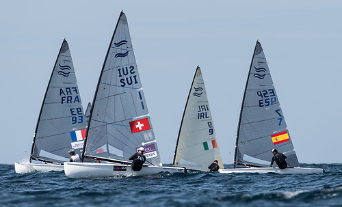 Donaghdee Finn Sailor McClelland Yet to Find Form at Euro Championships