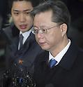 Woo Byung-woo at special prosecutors office in Seou